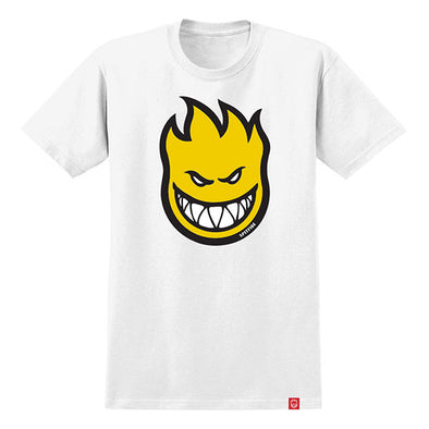 Spitfire Youth Bighead Fill White/Yellow