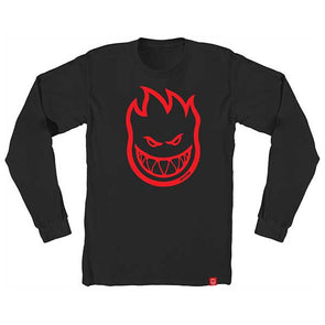 Spitfire Bighead L/S Black/Red - Xtreme Boardshop