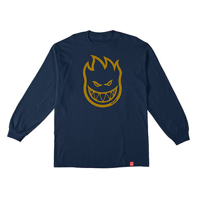 Spitfire Bighead L/S Harbor Blue/Gold