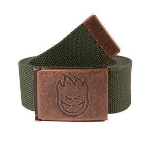 Spitfire Bighead Web Belt Brass/Dark Army