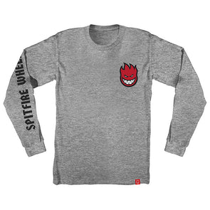 Spitfire Lil Bighead Fill Hombre L/S Athletic Heather