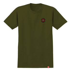 Spitfire OG Classic Fill Military Green/Red