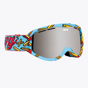 Spy Optic 2020 Cadet Snow Goggle Pizza vs. French Fries/Bronze with Silver Spectra (313347066084)