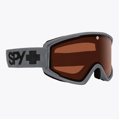 Spy Optic 2020 Crusher Elite Snow Goggle Matte Gray/HD LL Persimmon (3100000000009)
