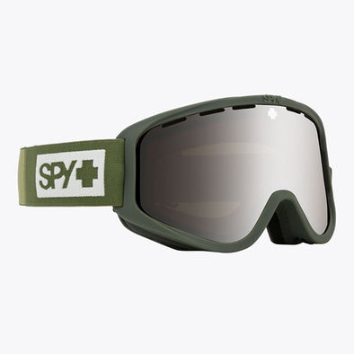Spy Optic 2020 Woot Snow Goggle Colorblock Olive/HD Bronze with Siliver Spectra + HD LL Persimmon (313346257387)