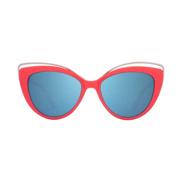 Spy Optic Julep Coral/Gray with Light Blue Flash Mirror (6700000000005)