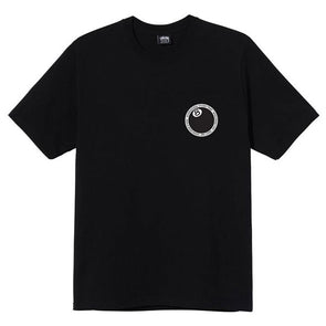 Stussy 8 Ball Dot Tee Black