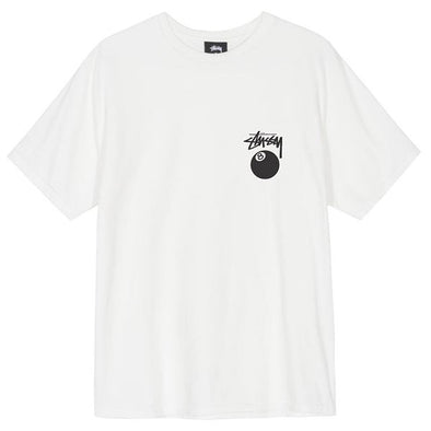 Stussy 8 Ball Tee Natural