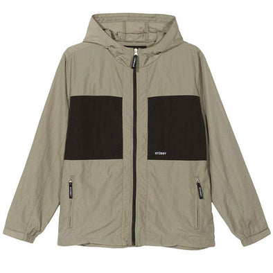 Stussy Block Tech Jacket Khaki
