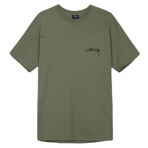 Stussy Bloom Pigment Dyed Tee Olive