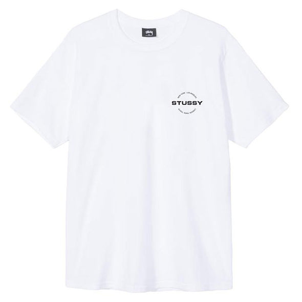 Stussy City Circle Tee White