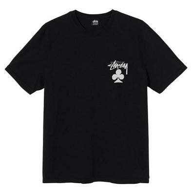 Stussy Club Pigment Dyed Tee Black