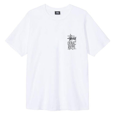Stussy Global Roots Tee White