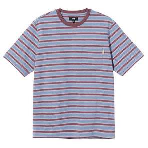 Stussy Griffin Stripe Crew Steel