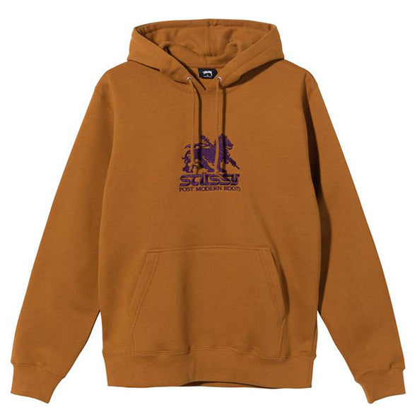 Stussy Stussy Lion Embroidered Hoodie Caramel