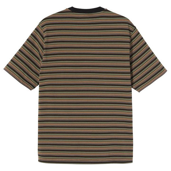 Stussy Mini Stripe Crew Black