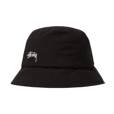 Stussy Outdoor Panel Bucket Hat Black