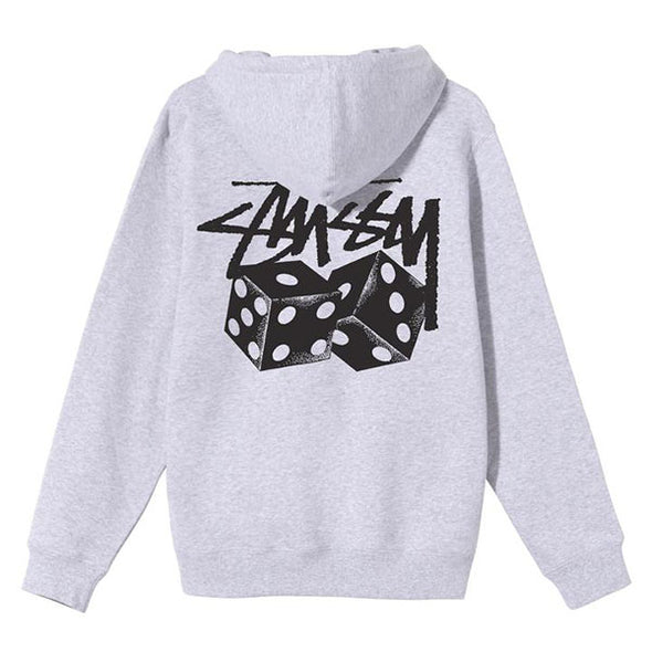 Stussy Pair of Dice Hoodie Ash Heather