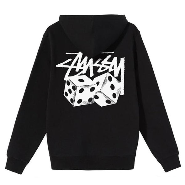 Stussy Pair of Dice Hoodie Black
