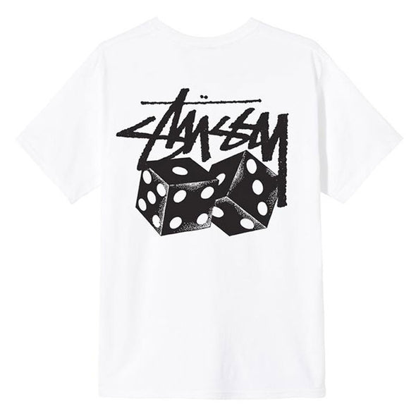 Stussy Pair of Dice Tee White