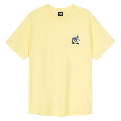 Stussy Rasta Lion Tee Lemon