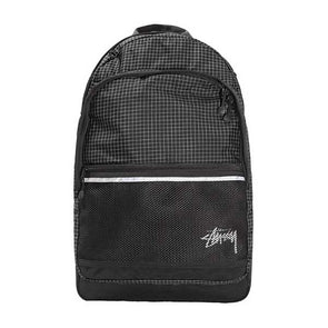 Stussy Ripstop Nylon Backpack Black