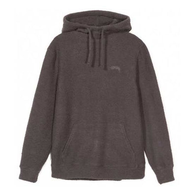 Stussy Slub Terry Hood Black - Xtreme Boardshop