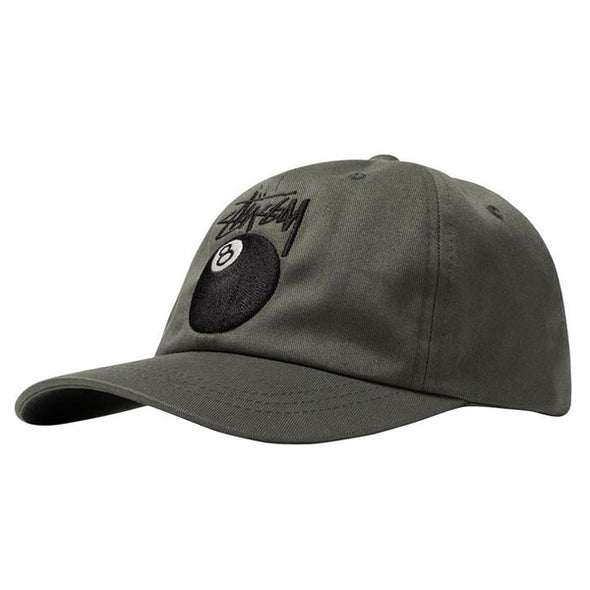 Stussy Stock 8 Ball Low Pro Cap Olive