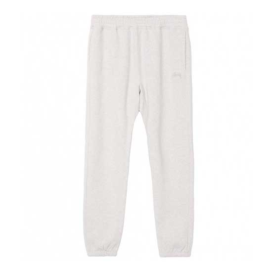 Stussy Stock Fleece Pant HO17 Grey Heather - Xtreme Boardshop
