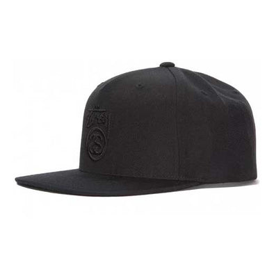 Stussy Stock Lock Cap FA18 Black