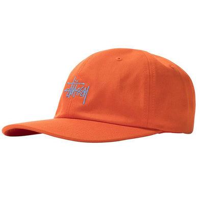 Stussy Stock Low Pro Cap Orange