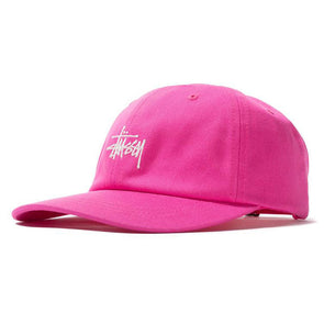 Stussy Stock Low Pro Cap HO19 Pink