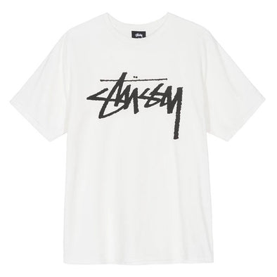 Stussy Stock Tee Natural
