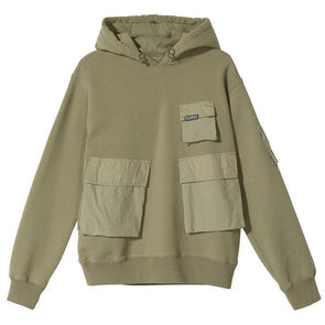 Stussy Women's Cargo Fleece Hood Khaki