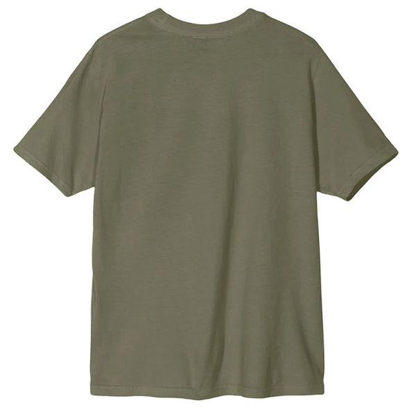 Stussy Women's Design Corp. Pigment Dyed Tee Olive