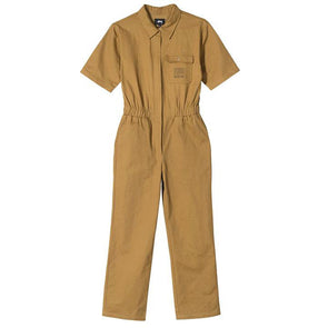 Stussy Women's One Piece Work Suit Mustard