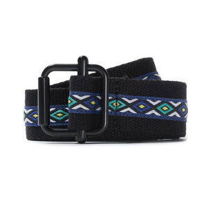 Stussy Woven Taped Web Belt Black