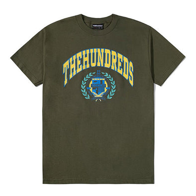 The Hundreds Alma T-Shirt Military Green