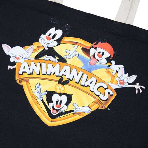 The Hundreds Animaniacs Shield Tote Bag Black - Xtreme Boardshop