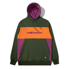 The Hundreds Blaze Pullover Hoodie Olive