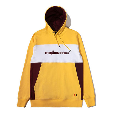 The Hundreds Blaze Pullover Hoodie Yellow