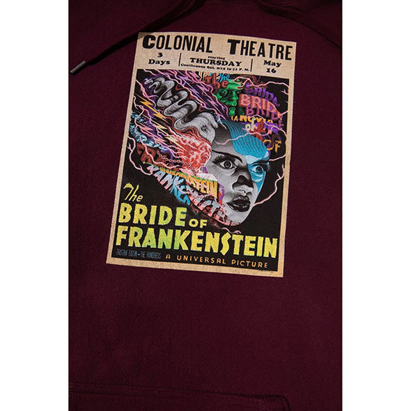 The Hundreds Bride of Frankenstein Pullover Hoodie Maroon