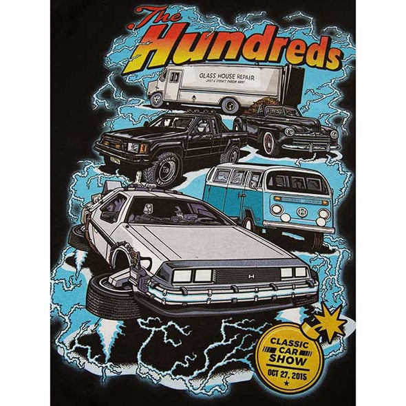 The Hundreds Car Show Off Pullover Hoodie Black