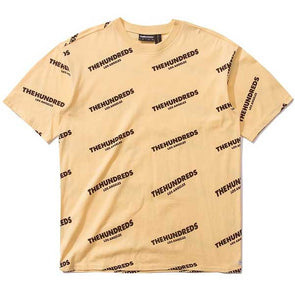 The Hundreds Card T-Shirt Pale Yellow