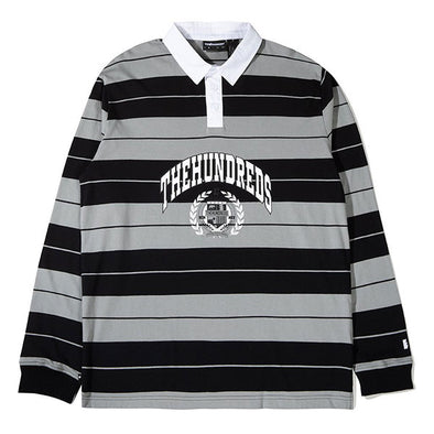 The Hundreds Charlie L/S Rugby Black