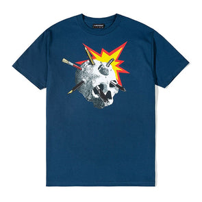 The Hundreds Craft T-Shirt Harbor Blue