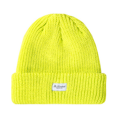 The Hundreds Crisp Beanie Highlighter Yellow