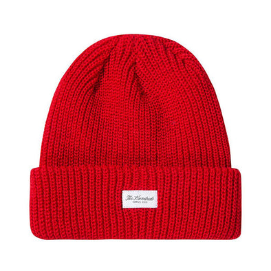 The Hundreds Crisp Beanie Red