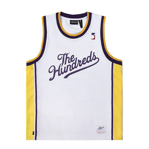 The Hundreds Drills Jersey White