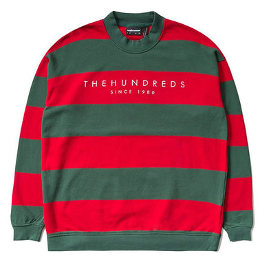 The Hundreds Elm Crewneck Hunter Green